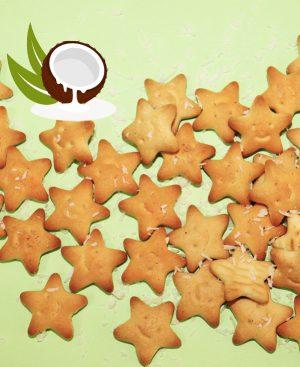 Крекер «Супер Звезда» со вкусом кокоса и сливок