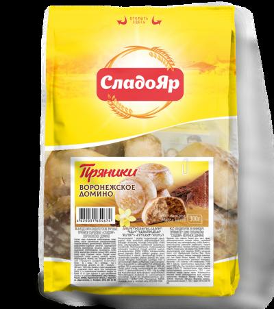 Пряники сырцовые Воронежское домино