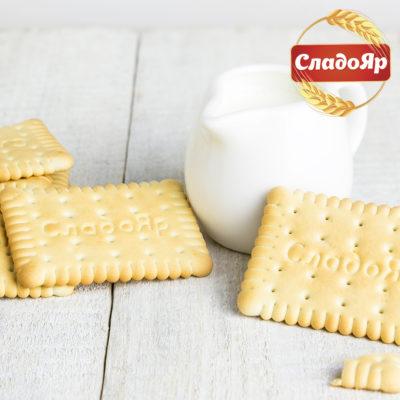 печенье молочное